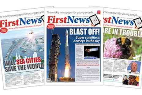 First News - Six week Subscription to First News - Save 50%