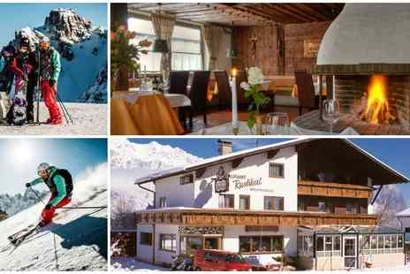Hotel Koegele - Seven night Austrian ski trip with half board five day ski pass and Innsbruck Card - Save 41%
