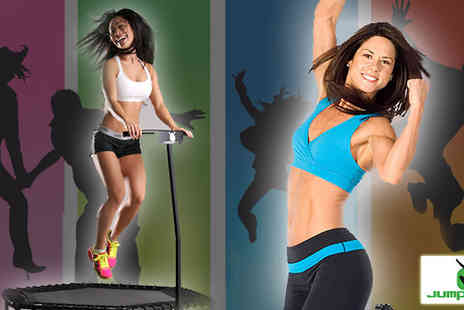 Jumping Fitness - Five Jumping Fitness Classes  - Save 56%
