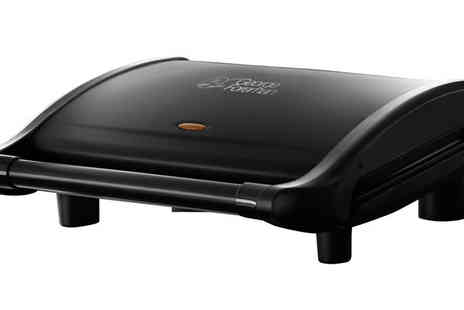 Ultimate Products - Seven Portion George Foreman Grill - Save 66%