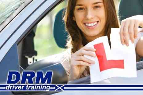 DRM Driver Training - Three One Hour Long Driving Lessons for £24 - Save 65%