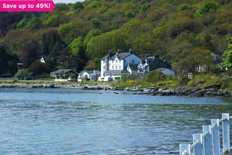 The Royal an Lochan - Coastal Views and the Finest Scottish Seafood - Save 49%