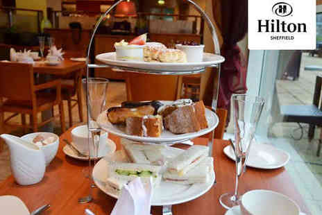 The Hilton Sheffield - Hilton Afternoon Tea for Two - Save 52%