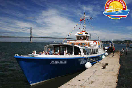 Forth Boat Tours - Two Tickets for Forth Bridges Cruise - Save 50%