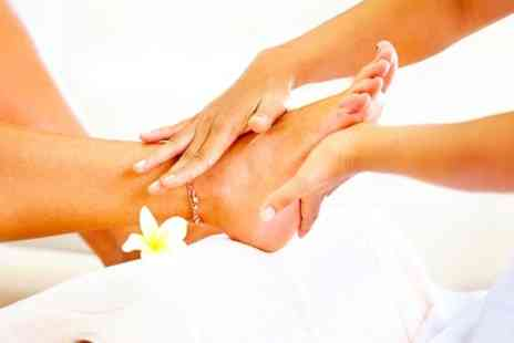 MBS Health - Reflexology, with Reiki or Homeopathic Consultation - Save 63%
