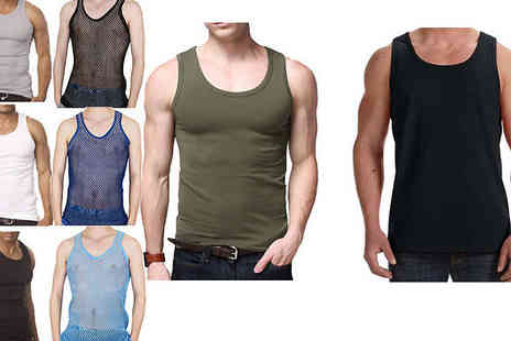toolcollectionuk direkt2publik - Mens Fitted Vest - Save 75%