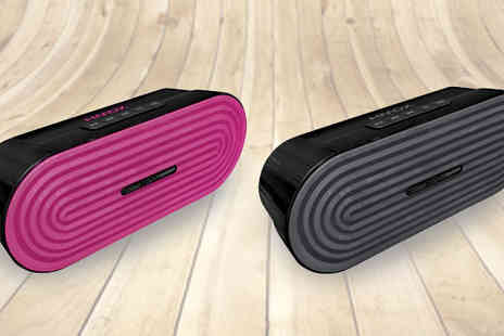 Ultimate Products - HMDX JAM Rave Portable Bluetooth Speaker - Save 63%