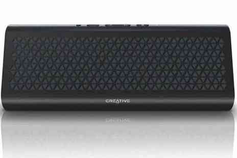Box.co.uk - Creative Airwave Wireless Bluetooth Speaker in Dark Grey - Save 57%