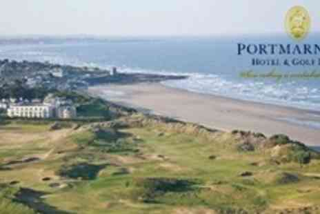 Portmarnock Hotel and Golf Links - Two Night Stay For Two With Breakfast, Wine and Late Check Out - Save 56%