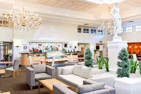 The Hilton Northampton Hotel - Afternoon Tea with Bubbly & Health Club Pass for two - Save 42%