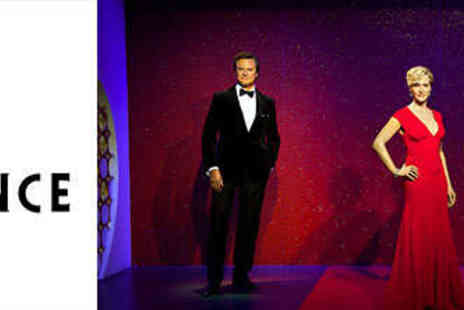 Madame Tussauds - Madame Tussauds Cinema Experience including Cinema Ticket plus Access to A List Party Areas - Save 31%