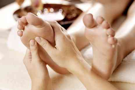 Studio 15 - 45 Minute Reflexology Session Plus 30 Minute Massage - Save 50%