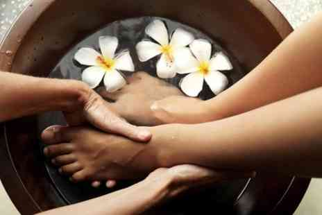 Grass Roots Hair Salon - Cuccio Foot Spa Treatment - Save 50%