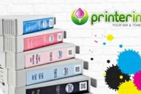 Printer Inks - £20 Worth of Ink Cartridges - Save 50%