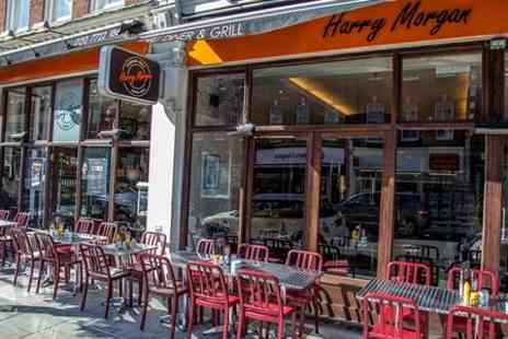 Harry Morgan - £10 Towards Food and Drink  - Save 50%