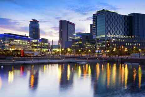 Britannia Hotel Manchester - One Night stay For Two With Breakfast Pizza and Beer - Save 51%