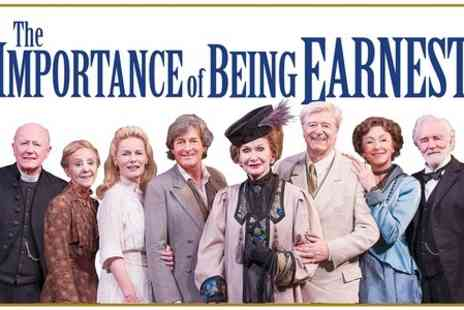 The Harold Pinter Theatre - One Ticket to The Importance of Being Earnest  - Save 50%