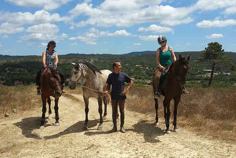 O Vale dos Cavalos - Two night Portuguese horse riding retreat including half board cottage stay transfers & riding - Save 60%