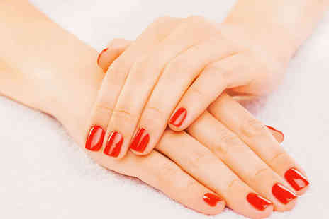 Enhance Nails and Beauty - Gel Polish Manicure - Save 53%