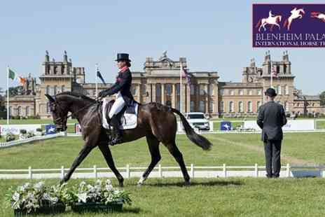 Blenheim Palace International Horse Trials - Admission and Grandstand Seat  - Save 58%