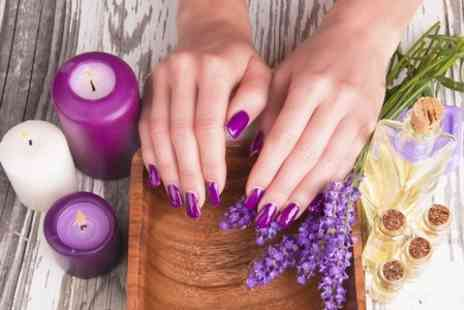 Sevenplus Hair & Beauty - Shellac Manicure or Pedicure - Save 64%