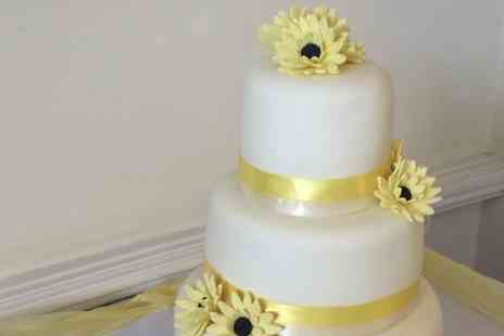 Cute as a Cupcake - Three Tier Wedding Cake - Save 70%