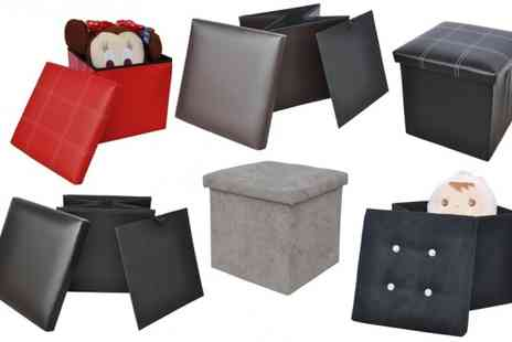 P&N Homewares - Ottoman Storage Cubes - Save 51%