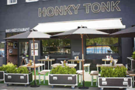 Honky Tonk - Three Course American Meal with a Cocktail - Save 51%