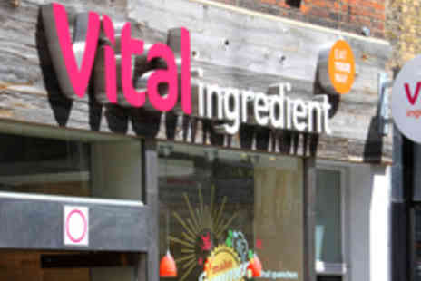 Vital Ingredient - Lunch with Salad Dessert and a Drink - Save 45%