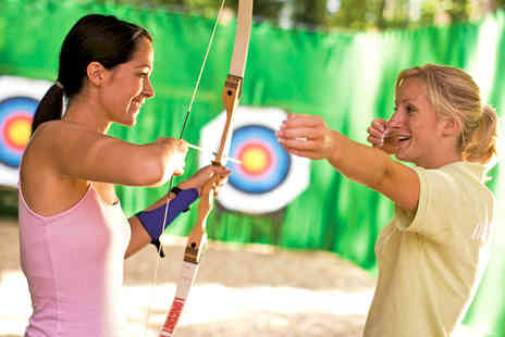 Shorefield Holidays - Archery and Climbing Wall Experience for One - Save 33%