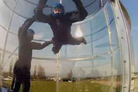 Windspin - Outdoor bodyflying experience for one - Save 56%