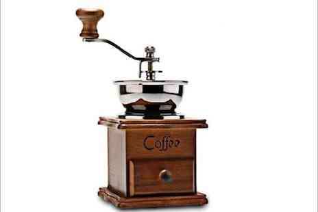 WEKSI - Old fashioned coffee grinder  - Save 50%