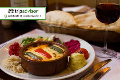 Anatolia Chargrill - Two course Turkish meal for 2 including a glass of Prosecco  - Save 55%