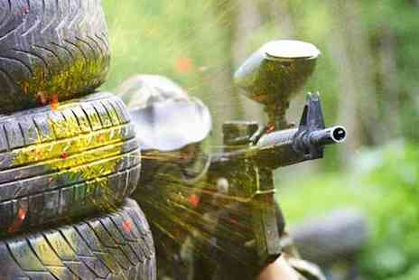 Campsie Commandos - Half day of paintballing for 10 with 150 balls each - Save 50%