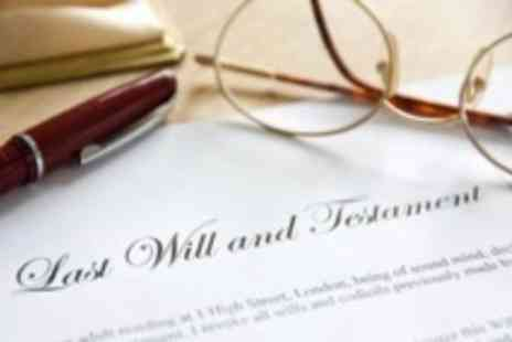 Everyday Wills - Single will writing service - Save 81%