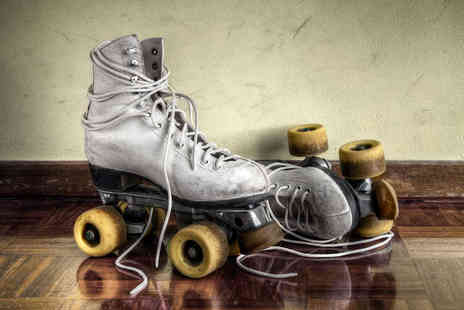 Get Your Skates On - Roller Disco Entry for Two - Save 50%