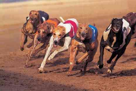 Kinsley Dogs - Dogs Races, Food and Drink For Two - Save 63%