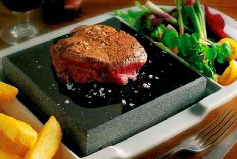 Fleur De Lis - Hot Rock Steak Meal For Two  - Save 53%