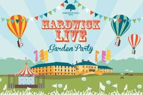 Hardwick Live Garden Party - Hardwick Live With The Jacksons for One Child  - Save 50%