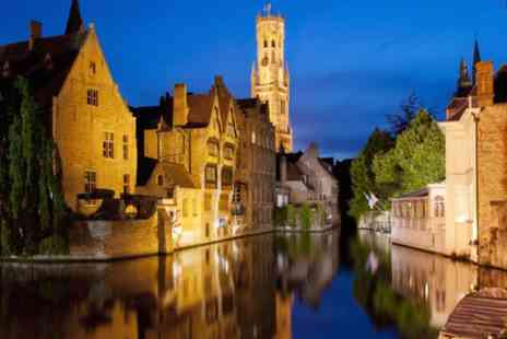 The Leonardo Hotel  - Fairytale Bruges for Two nights including breakfast, afternoon tea and chocolates - Save 63%