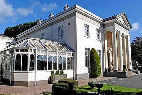 Lamphey Court Hotel - Two nights B&B with Dinner and cream tea and wine - Save 26%