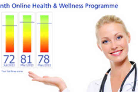 Screenetics - Personalised 12 month Health and Wellness Online Coaching Programme - Save 65%