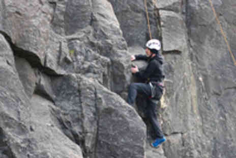 JT Expeditions - Half Day Rock Climbing or Abseiling Experience for One  - Save 52%