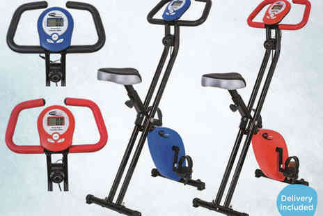 Folding Exercise Bike - Neo Sports Magnetic Exercise Bike - Save 41%