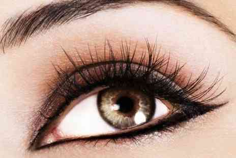 Angelz hair & Beauty - Eyelash Extensions With Eyebrow Tint and Shape  - Save 55%