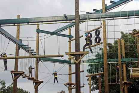 Vivary Adventure Centre - High Ropes and Outdoor Activities Package  - Save 25%