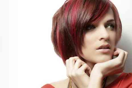 The Chapel Medi Spa - Highlights or Colour With Cut and Glossing Treatment  - Save 74%