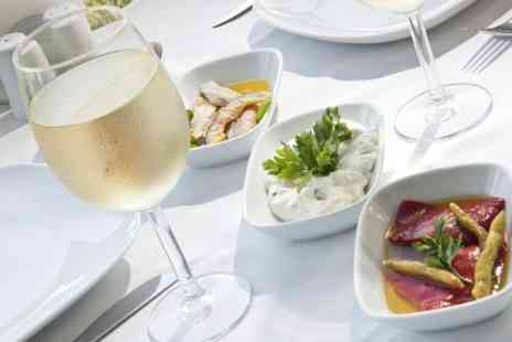 Bistro One - Seafood Meze With Wine For Two  - Save 56%