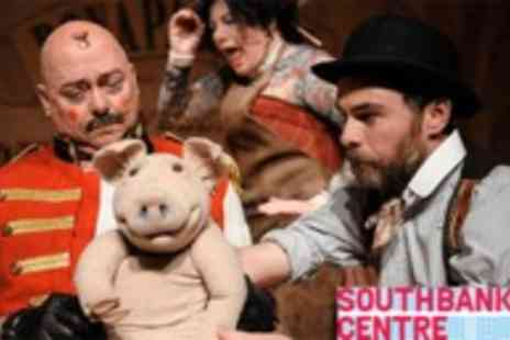 Southbank Centre - Watch Edmund the Learned Pig, the Eccentric, Entertaining Theatre Production  - Save 50%
