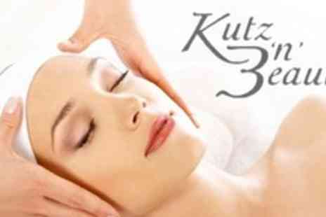 Kutz 'n' Beauty 2 - Deep Tissue Back Neck and Shoulder Massage Express Facial For Two - Save 69%